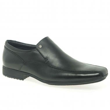 Belmont Mens Smart Leather Slip On Shoes