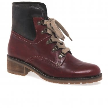 Cranleigh Womens Lace Up Ankle Boots