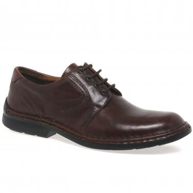 Walt Leather Mens Lace Up Smart Shoes