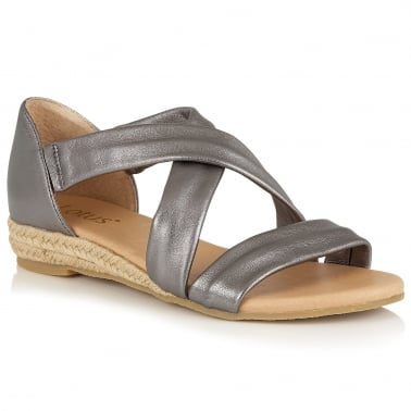 Arielle Womens Open Toe Sandals