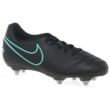Junior Tiempo Rio Stud Boys Football Boots