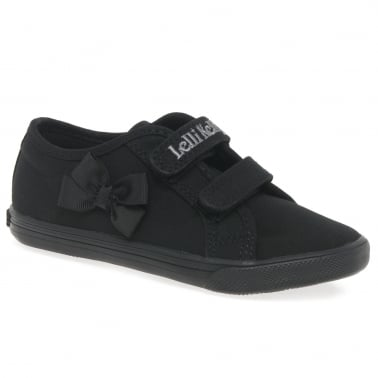 Lily Girls Infant Canvas Shoes