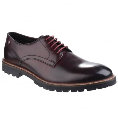 Barrage Mens Formal Lace Up Shoes