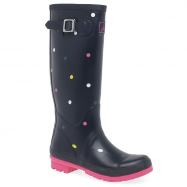 Womens Print Wellingtons