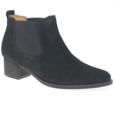 Confidential Womens Modern Slip On Ankle Boots