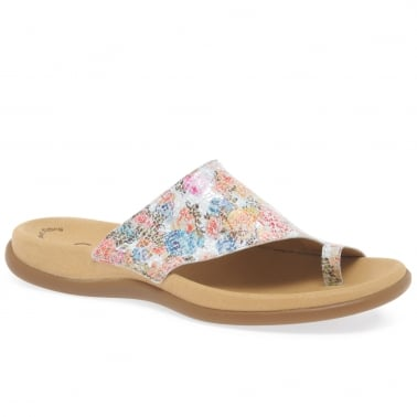 Lanzarote Womens Printed Mules