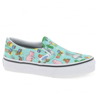 Toy Story Andy's Toys Slip-On Youth Trainers