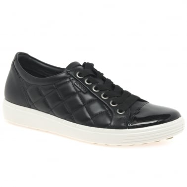 Soft 7 Quilt Womens Casual Lace Up Shoes