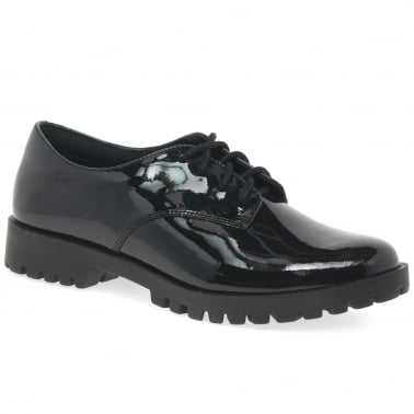 Agnes May BL Girls Senior School Shoes