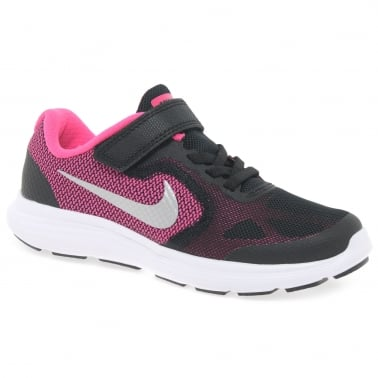 Revolution Velcro Girls Youth Sports Trainers
