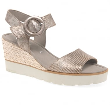 Obsession Womens Casual Wedge Heel Sandals