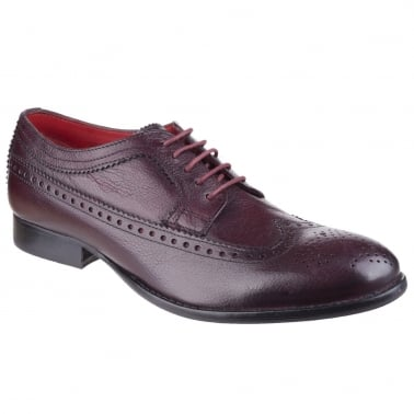 Bailey Mens Wing Tipped Brogue Shoes