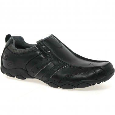 Heisman Leather Slip-on Mens Shoes