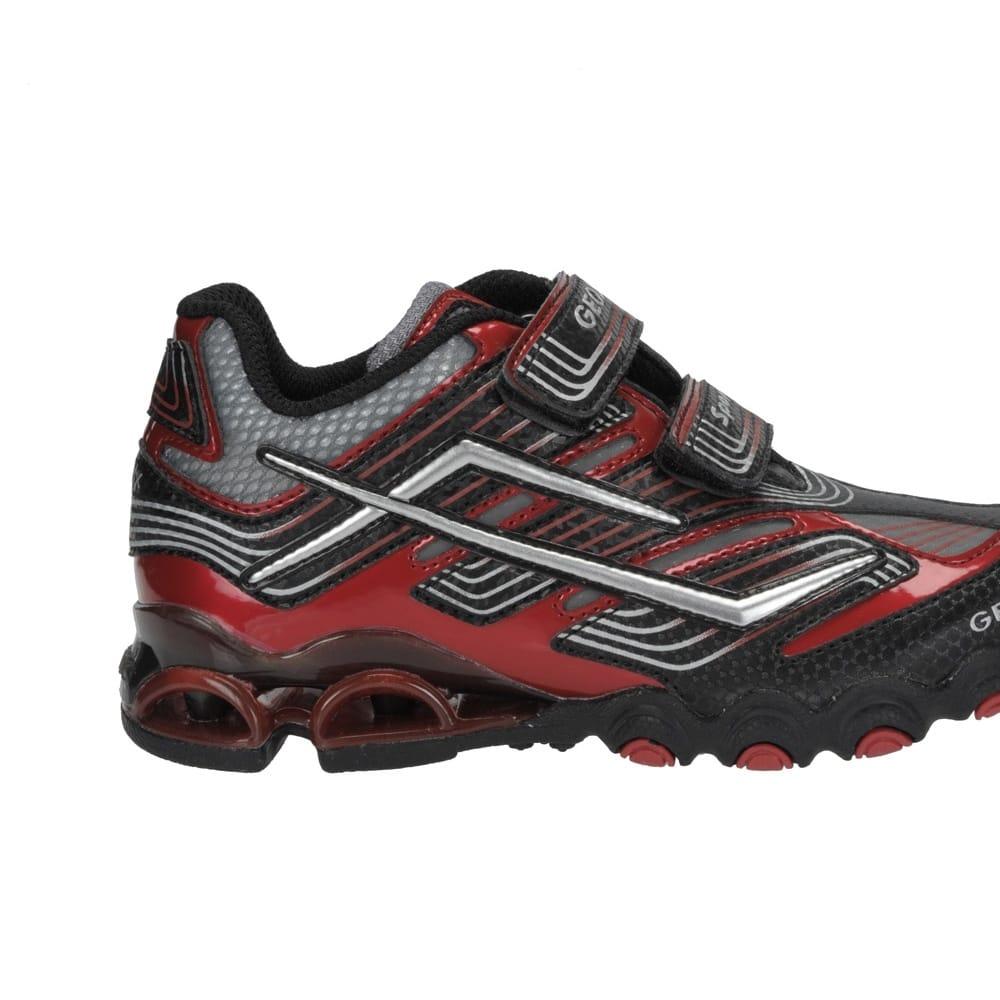 geox jnr tornado black boys sport shoe geox from