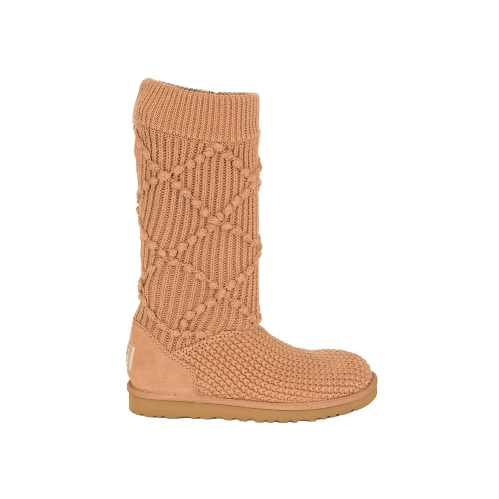 ugg classic argyle knit womens boots