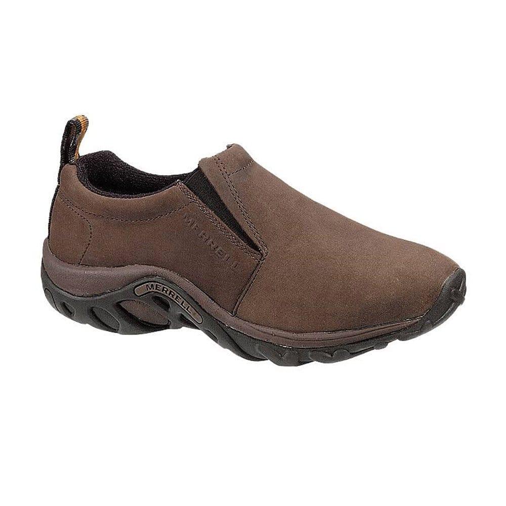 merrell jungle moc mens leather slip on shoes merrell