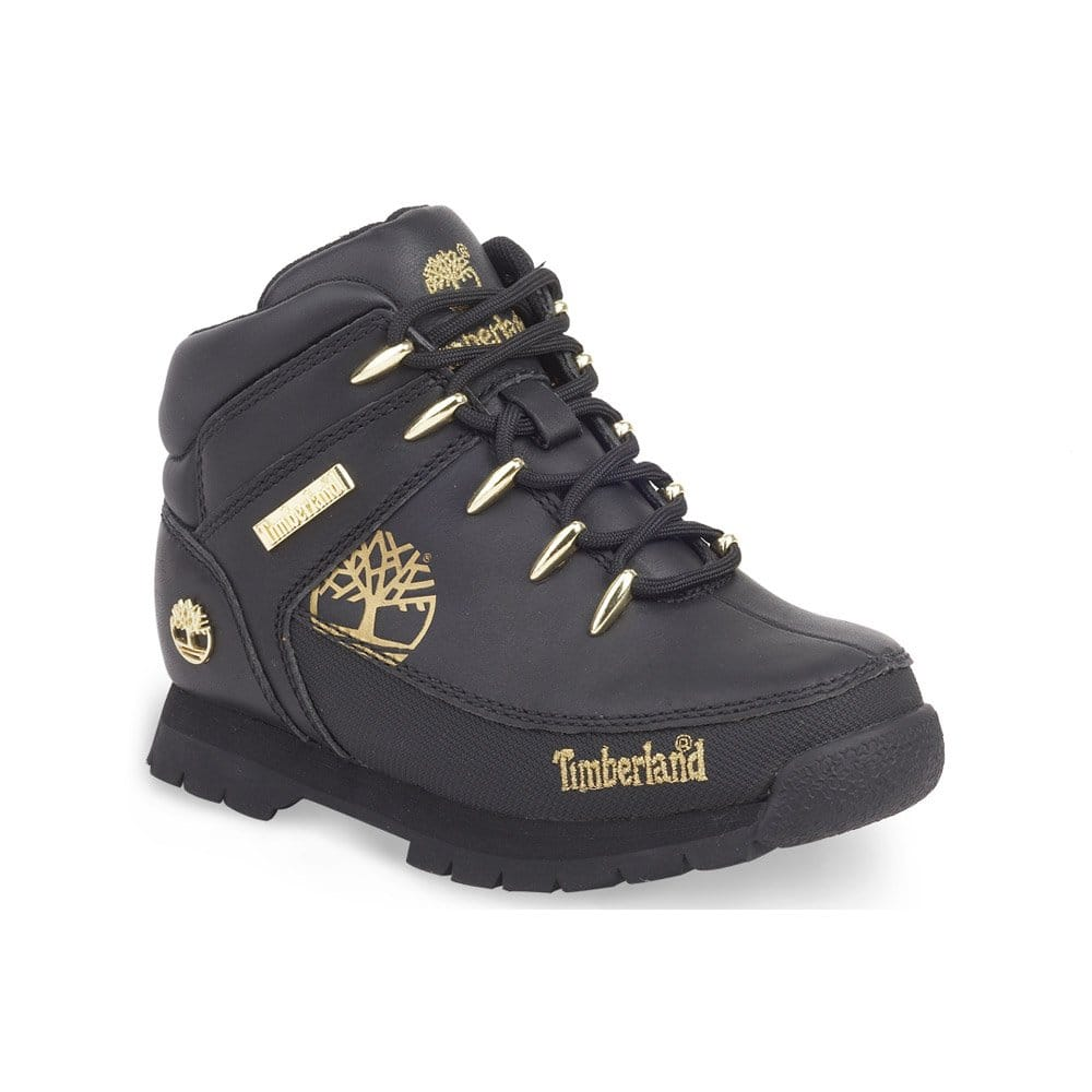 timberland euro sprint black gold junior boot 90969