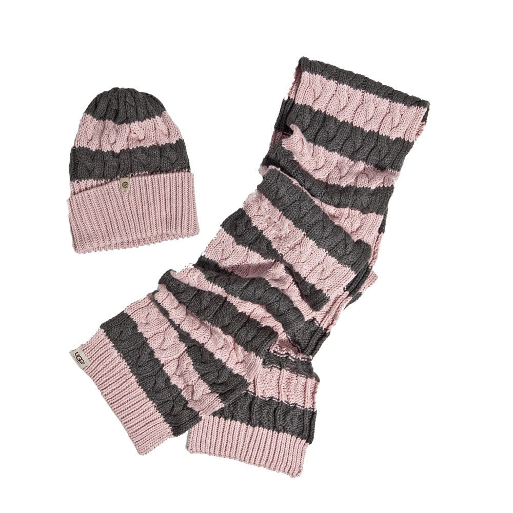 ugg hat gloves and scarf set