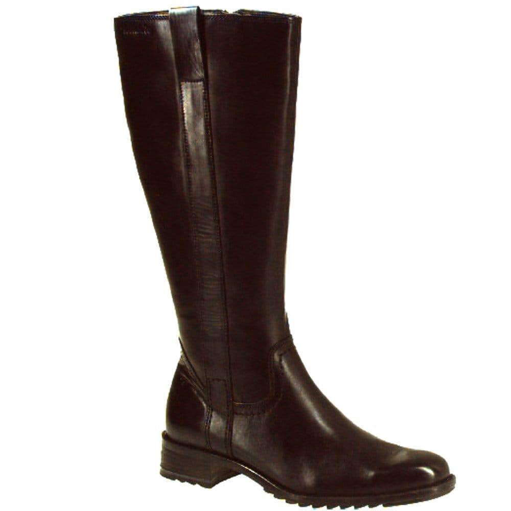 tamaris mars leather long boot 25832 25 tamaris from charles clinkard uk. Black Bedroom Furniture Sets. Home Design Ideas