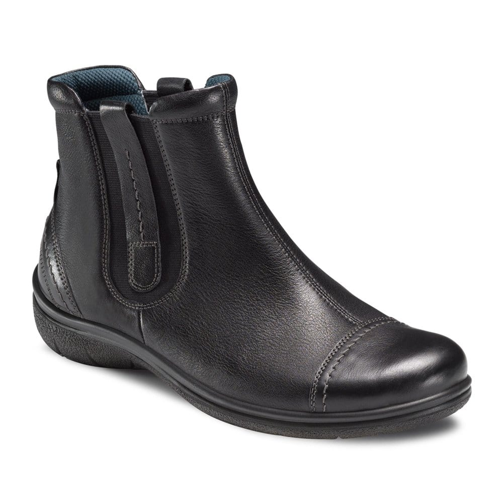 charles clinkard ecco soil ladies leather ankle boots