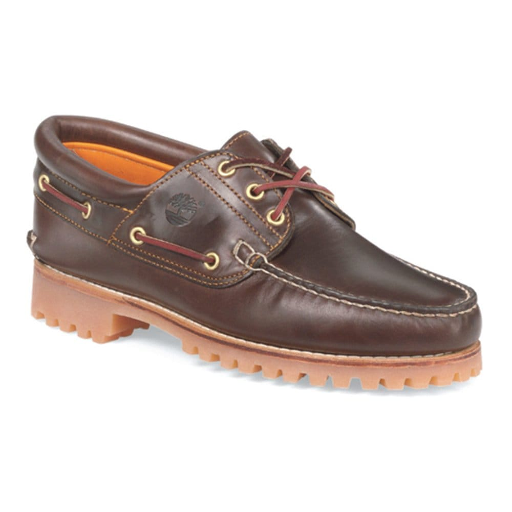 timberland 3 eye heritage mens boat shoes timberland