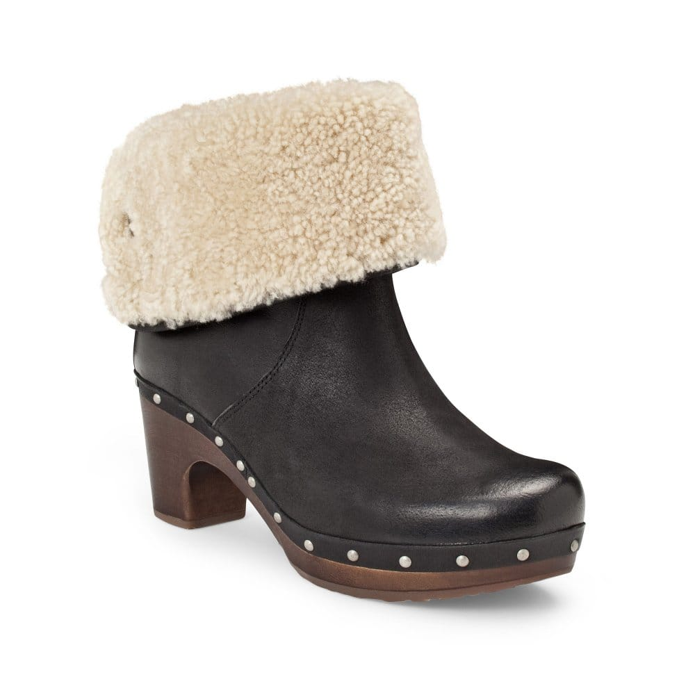 Womens leather gloves australia - Ugg Australia Lynnea Ladies Leather Ankle Boots Ugg Australia From