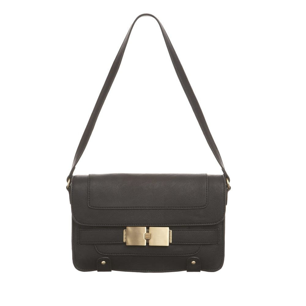 Small Black Shoulder Bag 26