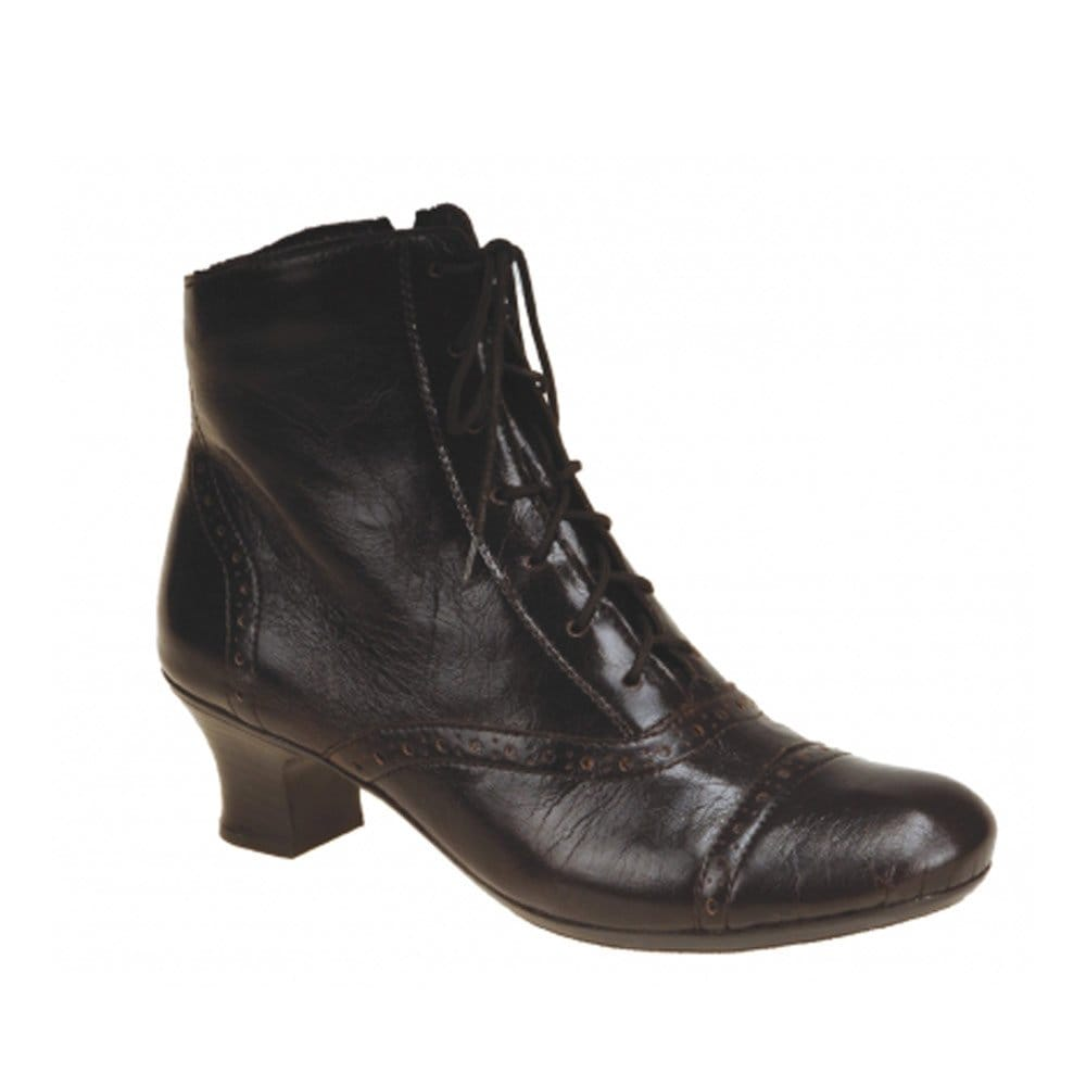 Victorian women were notable for their high black lace up Victorian boots. They continued to be worn into the s with a vintage revival in the s as well. Often called granny boots, vintage western boots, Lolita boots or witch's boots they are popular with Civil War and Victorian event re-enactors.