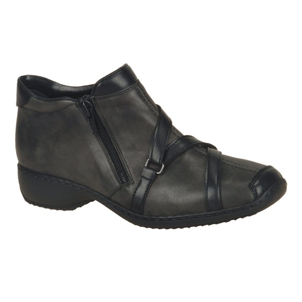 Innovative Acne Studios Vita Leather Ankle Boots In Gray Grey  Lyst