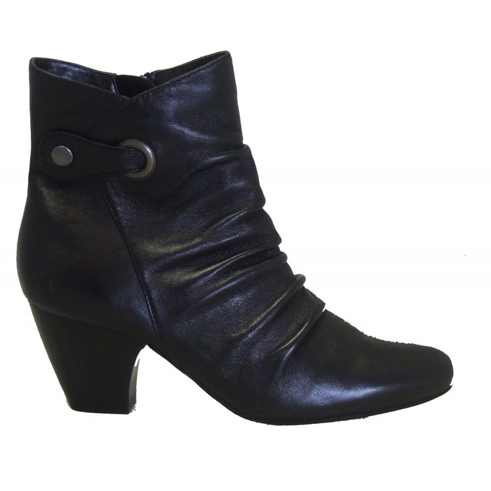 lotus boston wide fit leather ankle boots lotus from