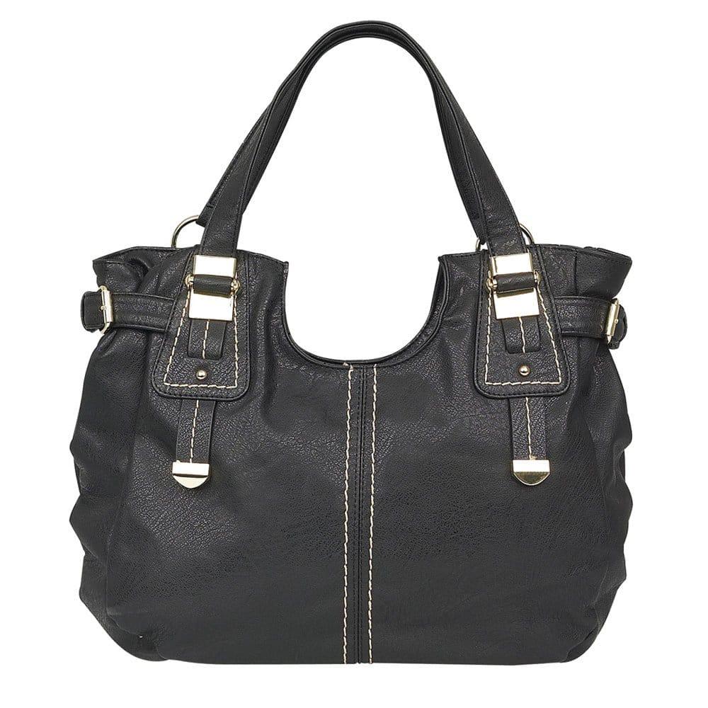 lotus midler ladies large black handbag 1254 lotus from