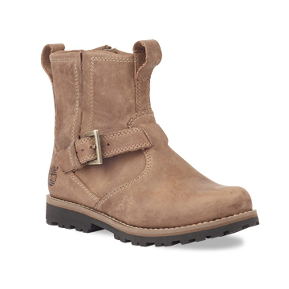 timberland earthkeeper boys brown leather chelsea boot