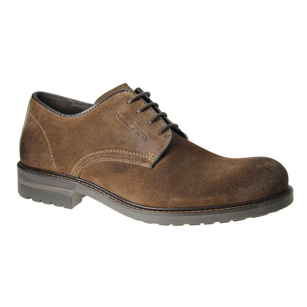 Prada Shoes $560 Dark Brown Suede Summer Derby 11 5 44 5e New | eBay