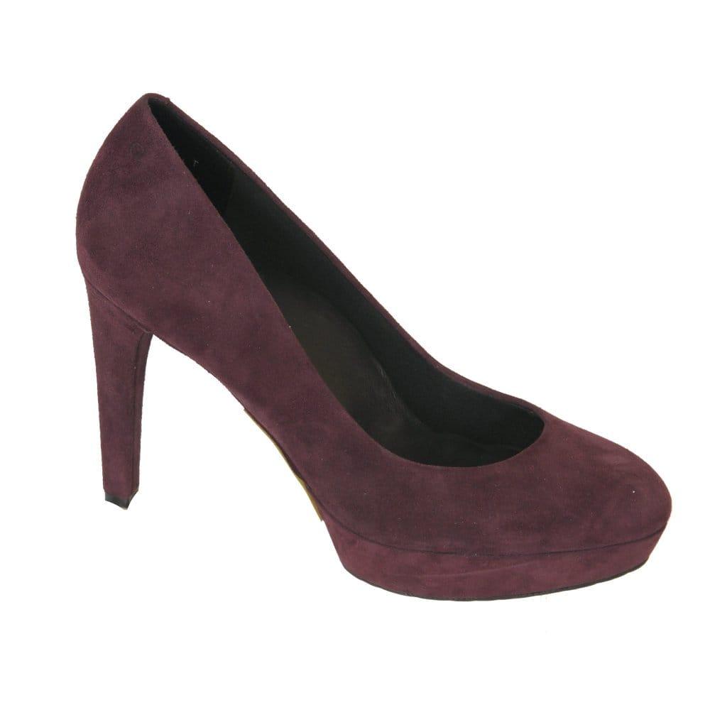 rockport janae purple platform shoe k58889