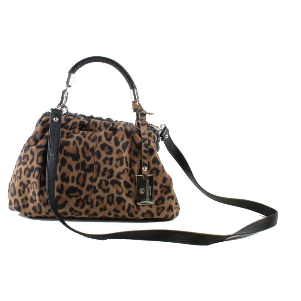 Leopard Print Shoulder Bag 92