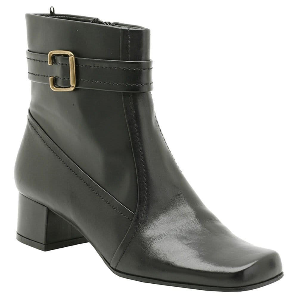 clarks l black leather ankle boots clarks