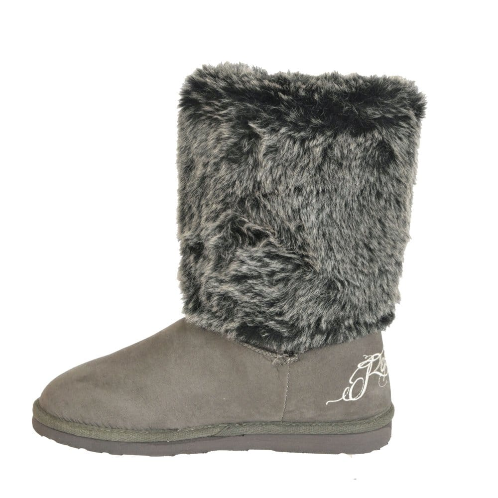 replay cher fur cuff ankle boots replay from
