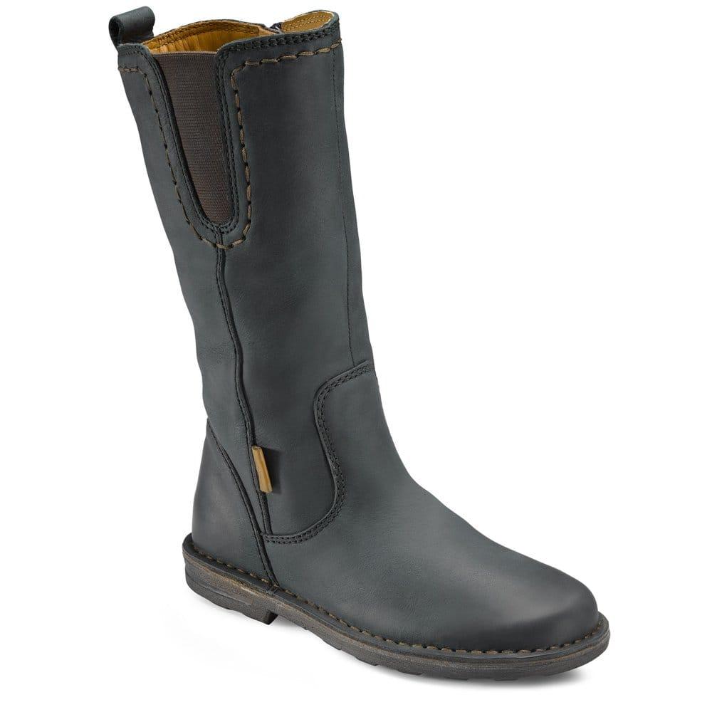 ecco aquamarine leather boots ecco from