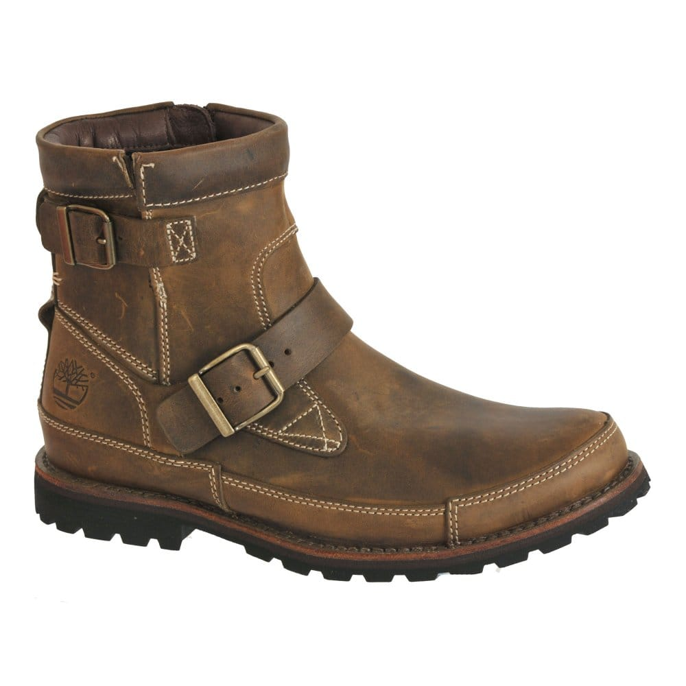 timberland earthkeeper and buckle mens brown