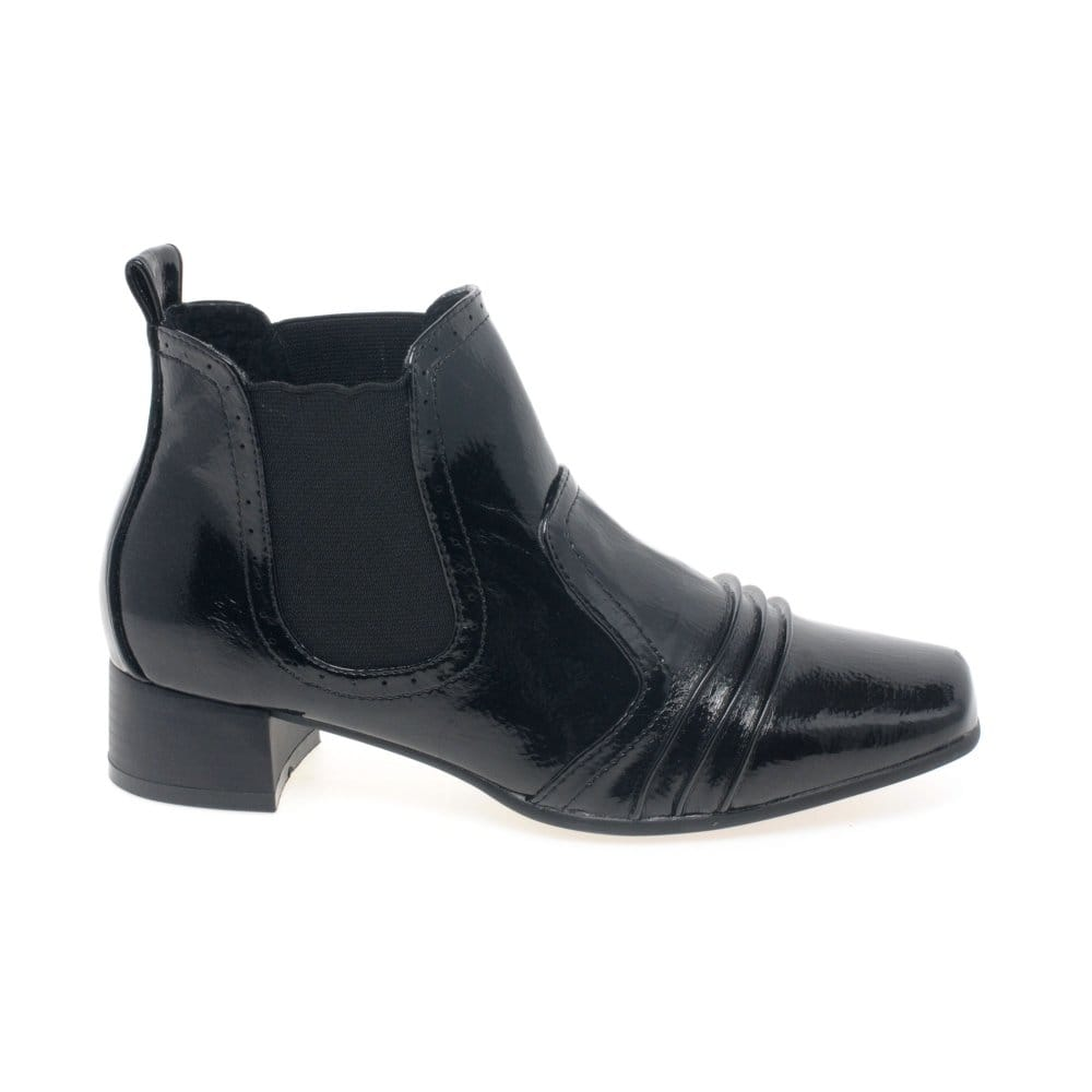 Popular Isabel Marant Patent Chelsea Boots In Black  Lyst
