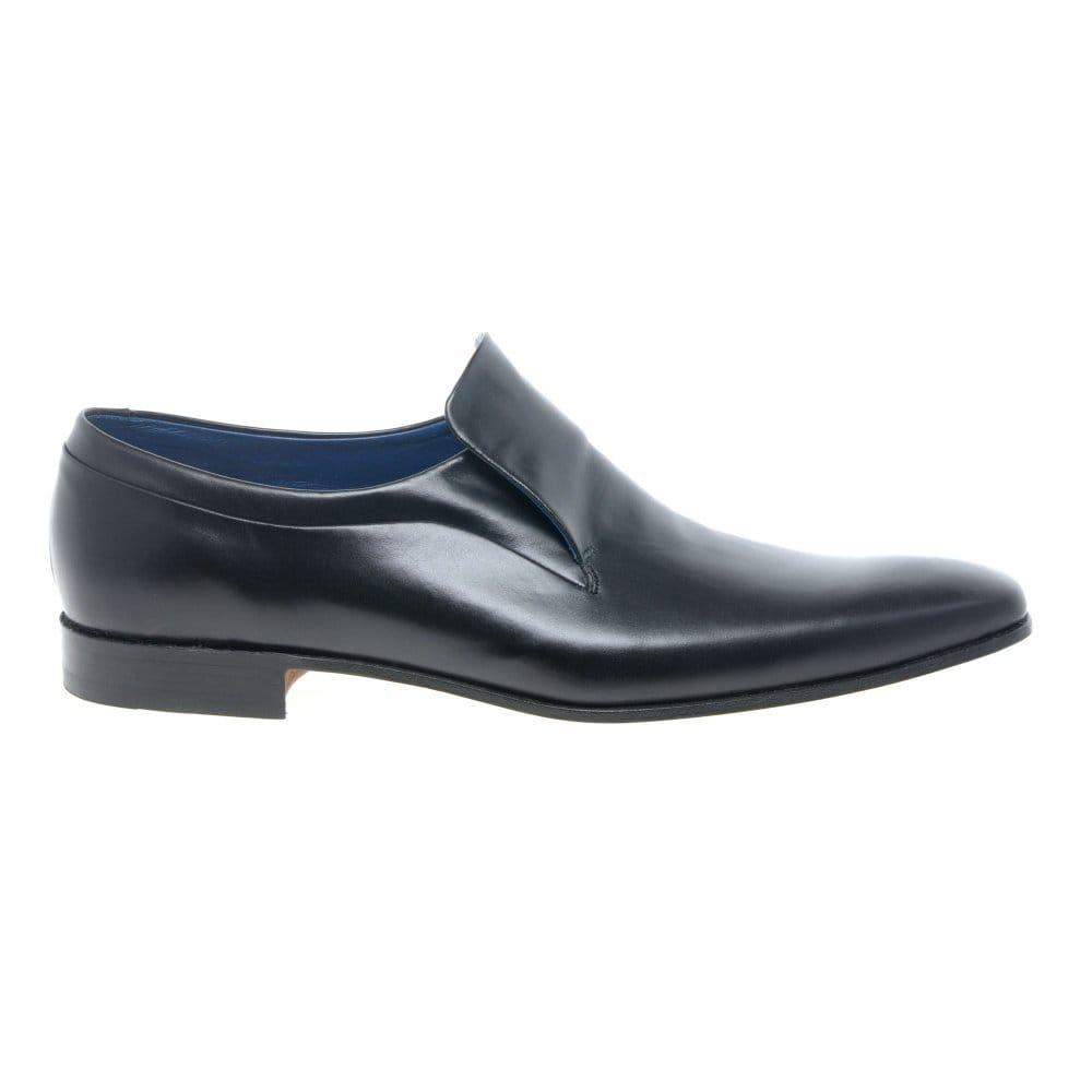 barker grenville mens black leather formal shoes barker