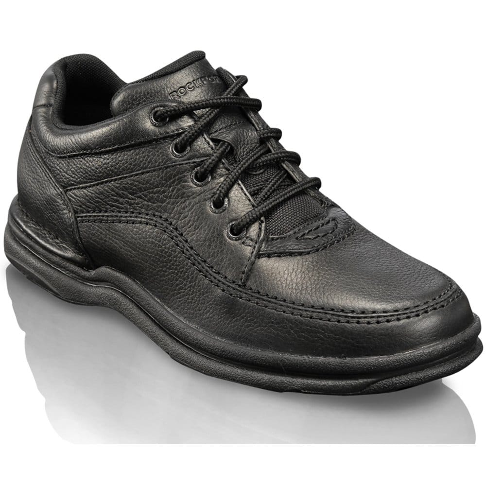 rockport rockport world tour classic black leather mens