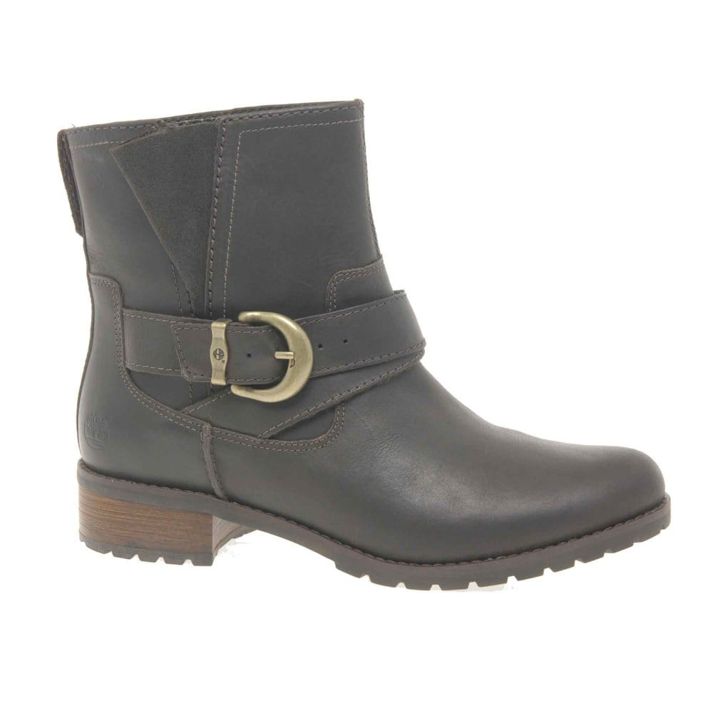 timberland bethal brown leather ankle boot