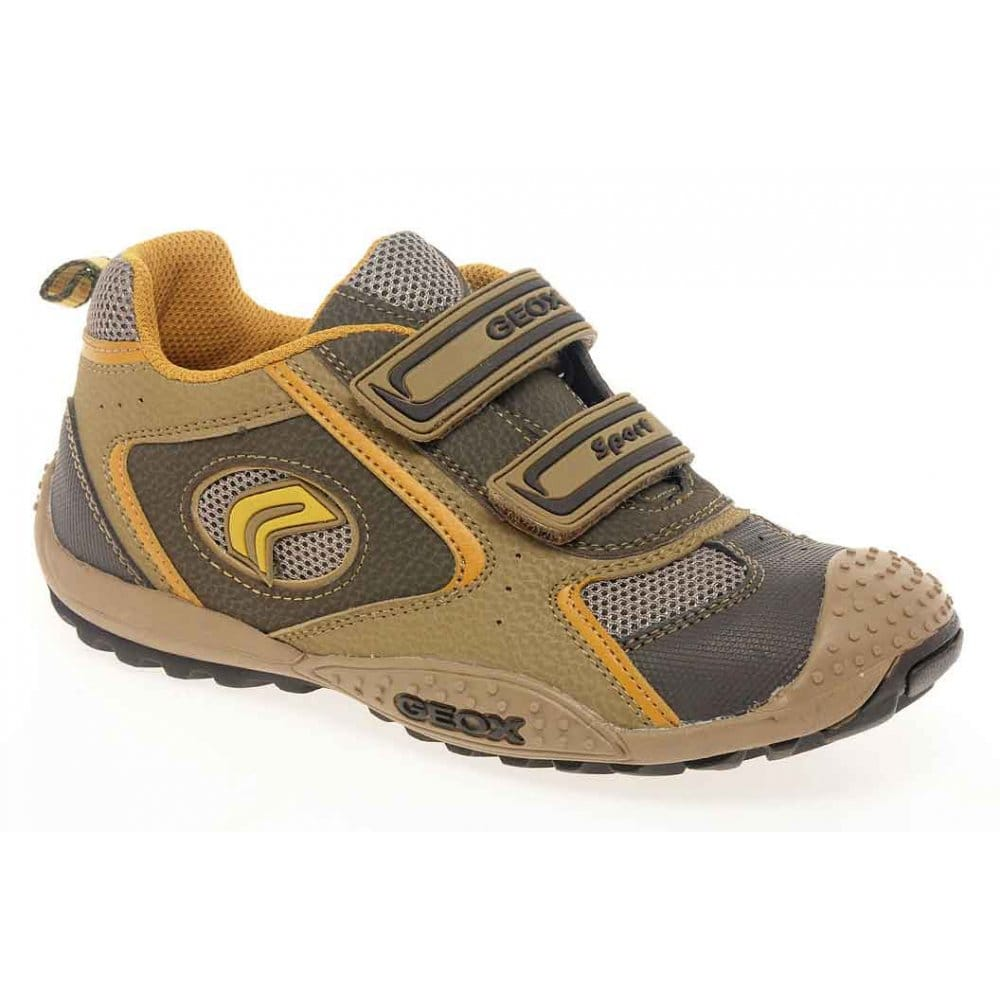 geox junior marlon boys velcro sports shoes charles clinkard