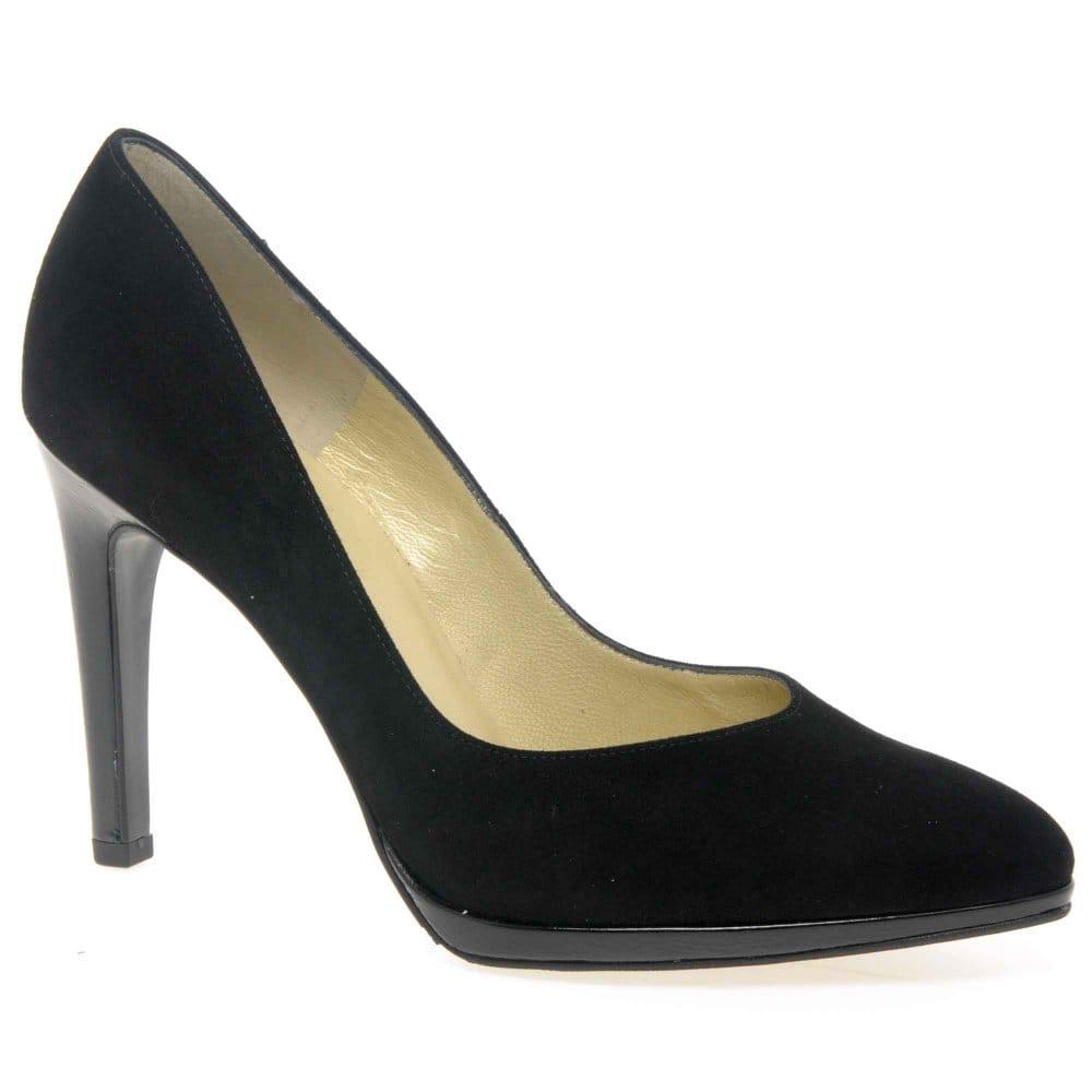 shoes peter kaiser peter kaiser herdi high heeled court shoes. Black Bedroom Furniture Sets. Home Design Ideas