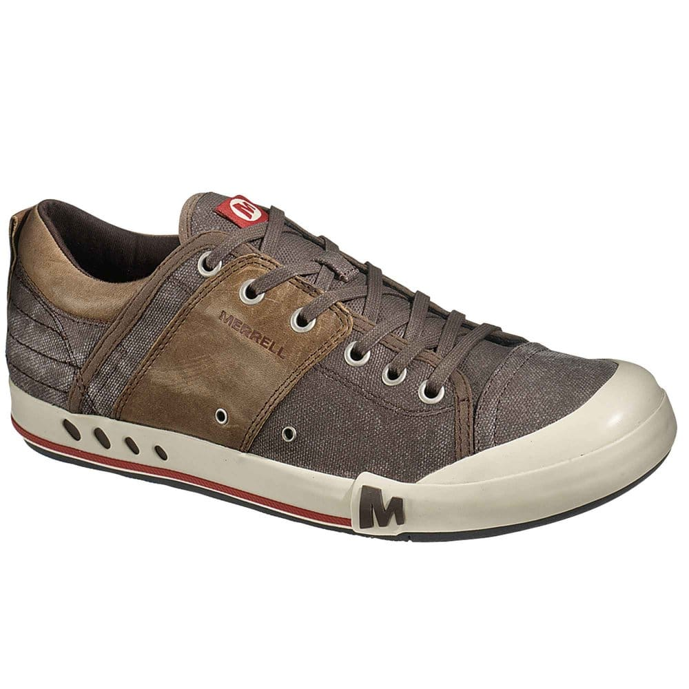 merrell rant casual mens brown sports shoes merrell from