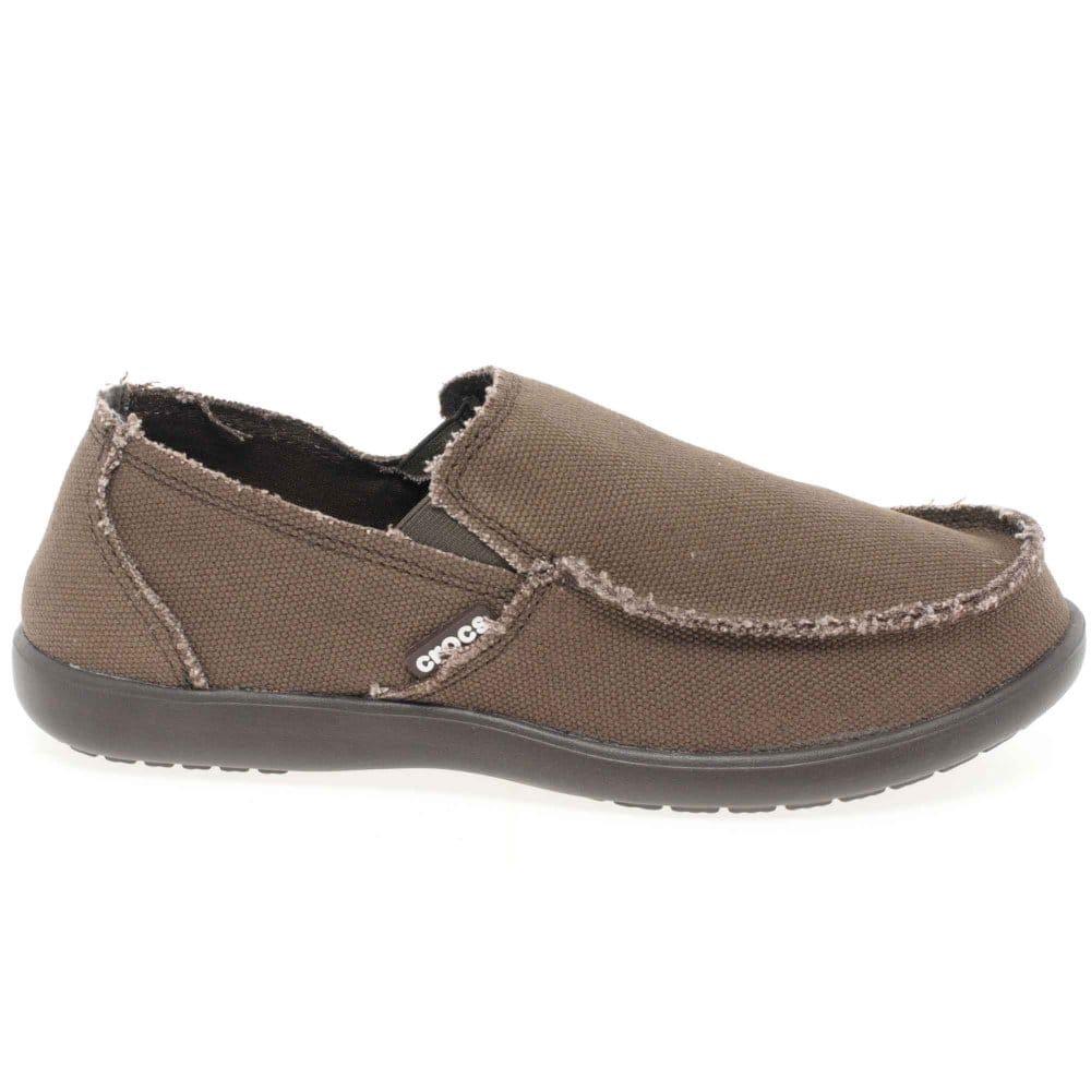 Crocs santa cruz mens slip on loafers crocs from charles clinkard uk