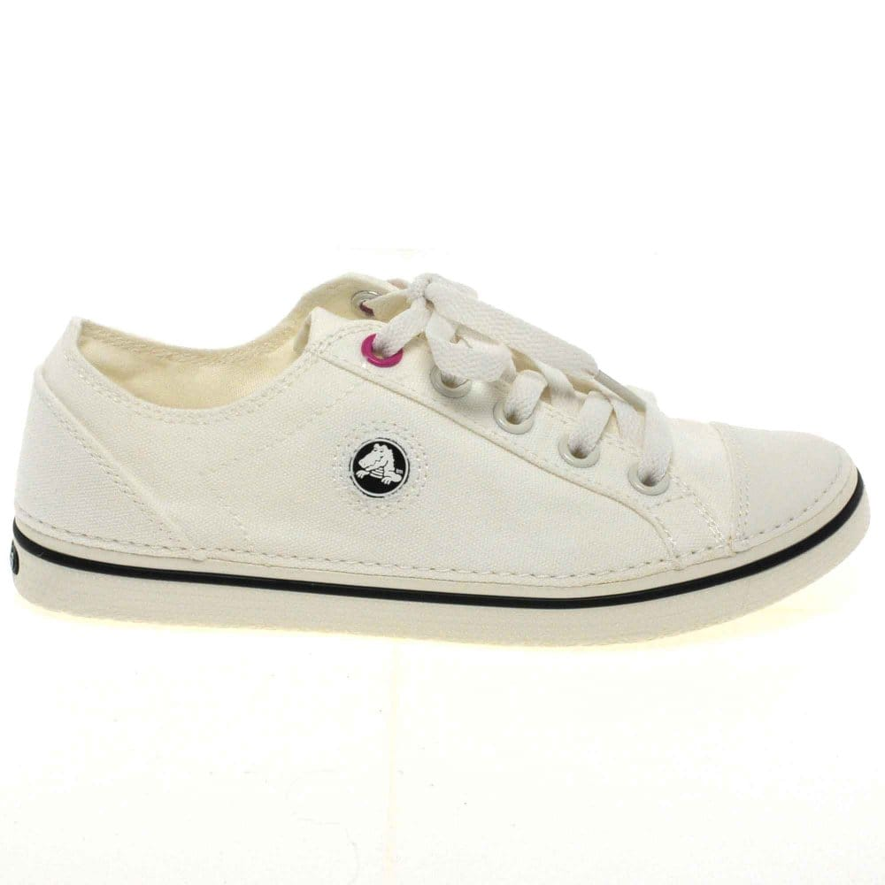 crocs hover womens lace up canvas shoes crocs from