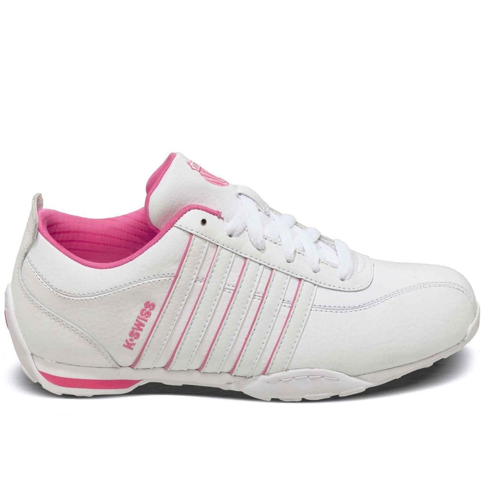 k swiss arvee girls lace up trainers k swiss from charles clinkard uk. Black Bedroom Furniture Sets. Home Design Ideas