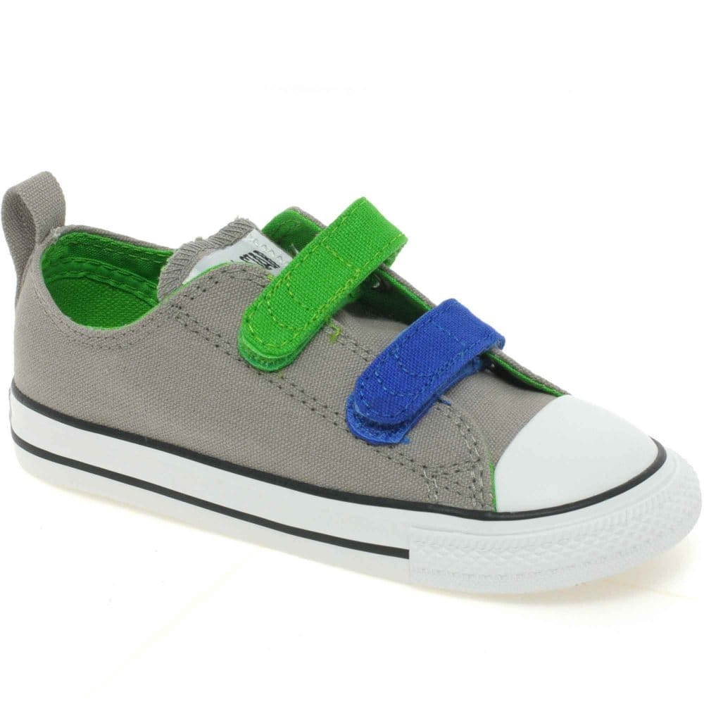 converse infant ox velcro boys canvas shoe converse from